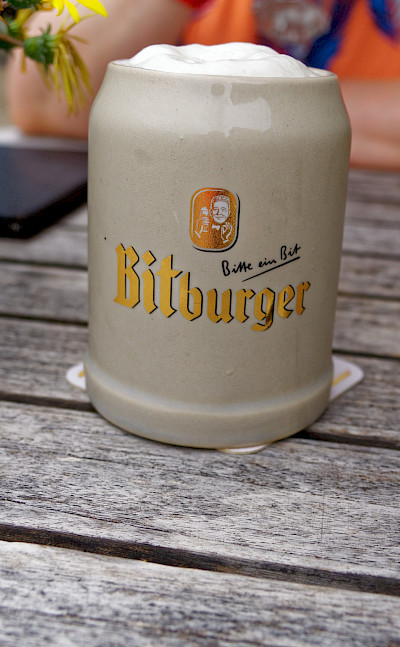 Bitburger beer in Trier, Germany. Flickr:Miguel Discart