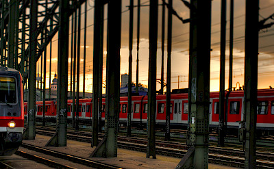 DB Bahn in Cologne, Germany. Flickr:Thomas Depenbusch