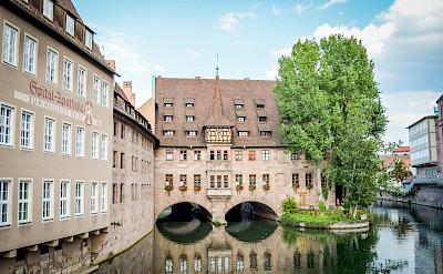 Biking through Nürnberg, Germany. Flickr:Euroslice