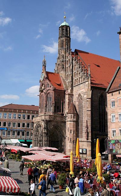 Frauenkirche in Nuremberg, Germany. Flickr:Roland Moriz