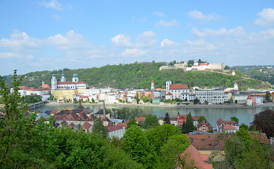 Biking in Passau, Germany. Flickr:Sugarbear96