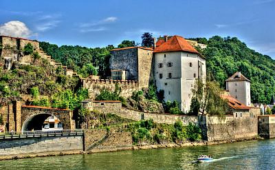 Vest Niederhaus in Passau, the '3 River City' in Germany. Flickr:Polybert49