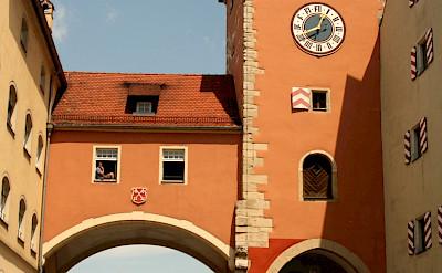 Gate in Regensburg, Germany. Flickr:Matthew Black