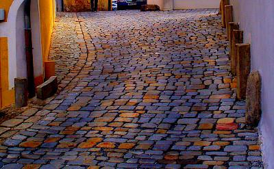 Cobblestone streets in Straubing, Germany. Flickr:fpfatter