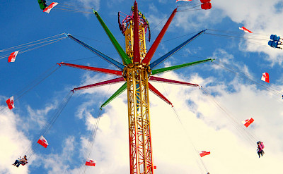 Amusement park in Straubing, Germany. Flickr:Jakob Tiefenthaler