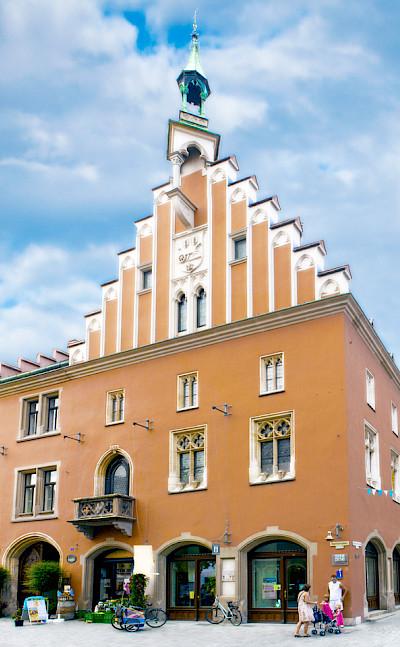 <i>Rathaus</i> in Straubing, Germany. CC:jnm