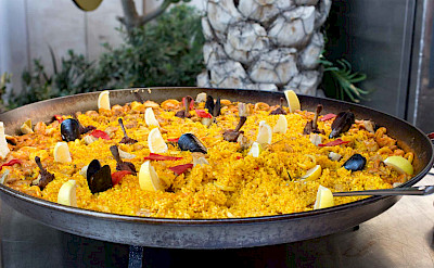 Paella is a Spanish specialty! Flickr:Krista