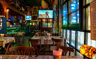 Dining in Sant Feliu de Guíxols, Costa Brava, Spain. Flickr:Jorge Franganillo