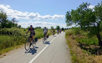 Biking the Istria peninsula in Croatia. ©TO
