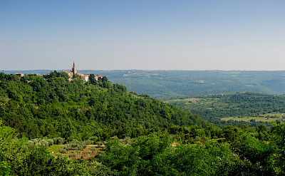 Great views in Grožnjan, Istria, Croatia. ©TO