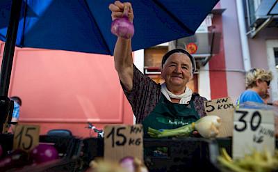 Market in Motovun, Istria, Croatia. ©TO