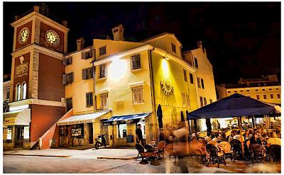 Nightlife in Rovinj, Istria, Croatia. Flickr:Mario Fajt