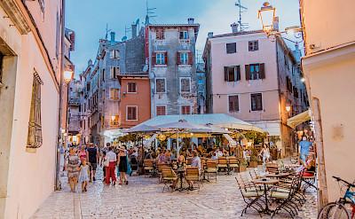 Old Town in Rovinj, Istria, Croatia. Flickr:Marco Verch