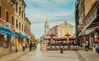 Square in Poreč, Croatia. Flickr:Marco Verch Professional
