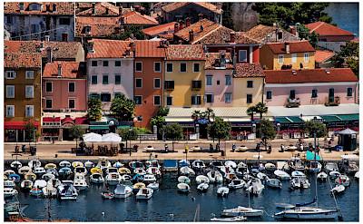 Boats in Rovinj, Istria, Croatia. Flickr:Mario Fajt