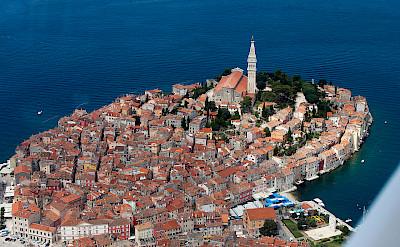Adriatic Sea surrounding Rovinj, Istria, Croatia. CC:Jeroen Kommen