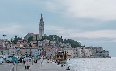 Along the coast in Rovinj, Istria, Croatia. Flickr:Marco Verch