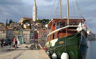 Boats & bikes in Istria, Croatia. ©TO