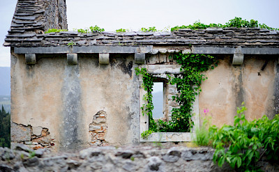 Ruins in Istria, Croatia. ©TO