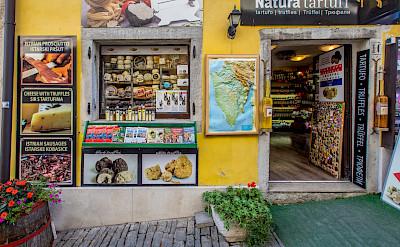 Shopping in Motovun, Istria, Croatia. Flickr:Arnie Papp