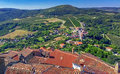 View from Motovun, Istria, Croatia. Flickr:Arnie Papp