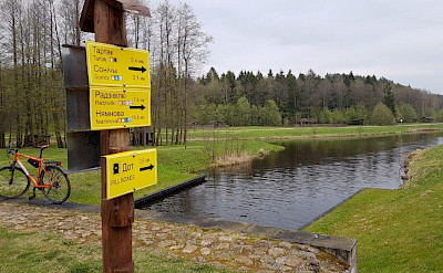 Biking along the Augustow Canal on the Borderland of Lithuania, Poland, & Belarus Bike Tour.