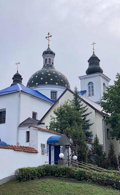 Great churches in Grodno (aka Hrodna), a city in western Belarus.