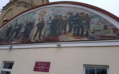 Fire station in Grodno, Belarus.