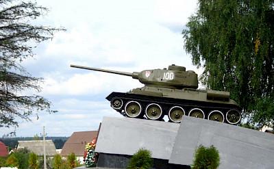 Lots of war history in Grodno, Belarus.