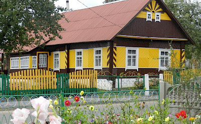 Old villages on the Lithuania, Poland & Belarus Bike Tour.
