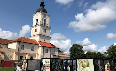 Monastery in Wigry on the Lithuania, Poland & Belarus Bike Tour.
