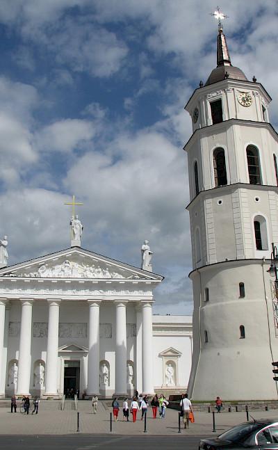 Bell Tower at Vilnius Cathedral in Belarus. Flickr:Chris Price