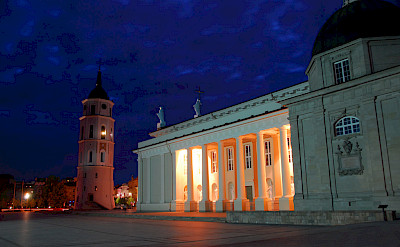 Bell Tower & Cathedral in Vilnius, Lithuania. Flickr:Fmira