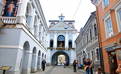 Old Gate in Vilnius, Lithuania. Flickr:Ulrika