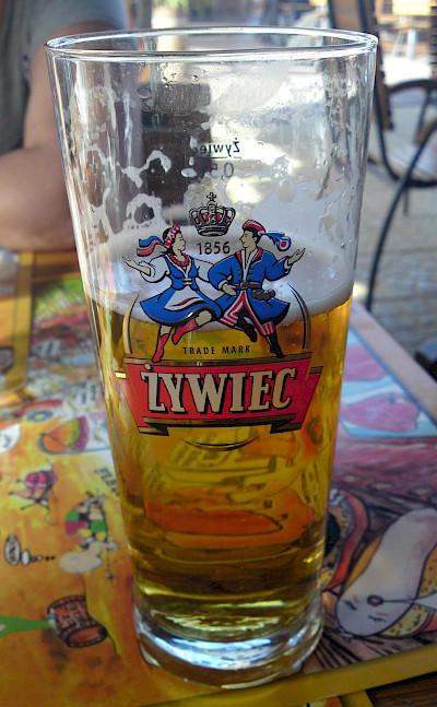 Żywiec polish beer in Warsaw (Warszawa), Poland. Flickr:Ulf Liljankoski