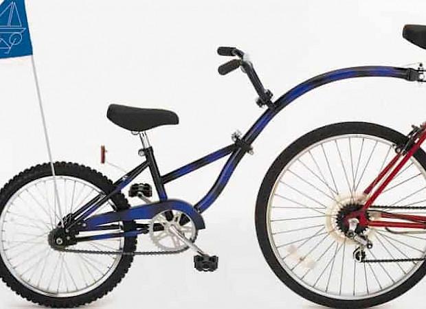 Child's tag along bike
