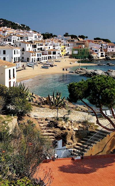 Overlooking Calella de Palafrugell, Costa Brava, Catalonia, Spain. Flickr:Jorge Franganillo