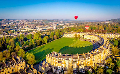 Bath in the Cotswolds, a wellness destination.
