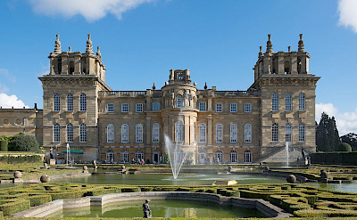 Blenheim Palace in Woodstock, Oxfordshire, England. CC:Defacto