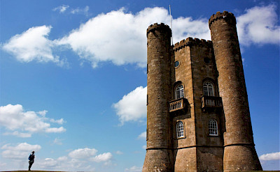 Broadway Tower, nestled in a 50 acre estate.