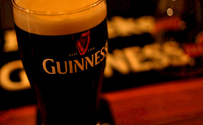 Guinness at the pub in England perhaps?! Flickr:Yumikimura