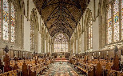 Oxford University Chapel in England. Flickr:Michael Beckwith