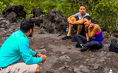 Hiking and learning, Arenal Volcano, Costa Rica