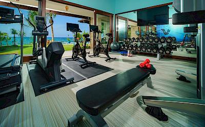 Aqua Bay Gym With Bikes