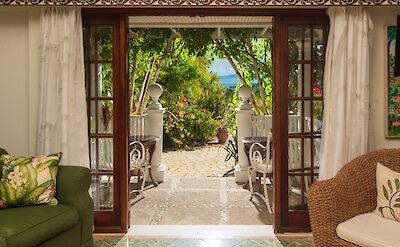 Mahogany Hill Master Bedroom Terrace
