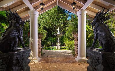 Mahogany Hill Entrance To Pond