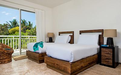 Sailrock Resort Ridgetop Suite Bedroom 2 Beds 1