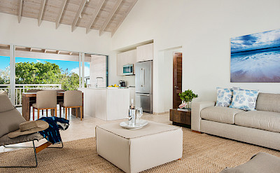Sailrock Resort Ridgetop Suite Living Room 2