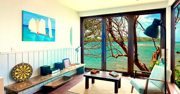 Oceanfront 2 Br Living Area