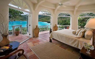 B Peter Bay Beach Villa Bedroom